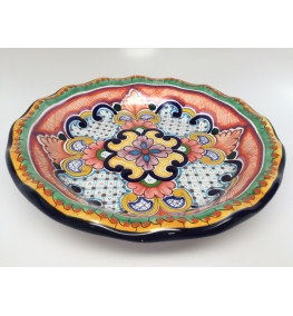 Talavera Plate 8.6 Inches