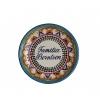 Personalized Talavera Plate Round 9.8 In