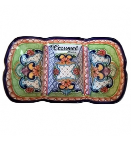 Personalized Talavera Snack Tray