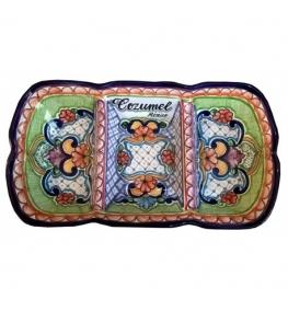 Personalized Talavera Snack Tray