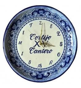 Personalized Talavera Clock