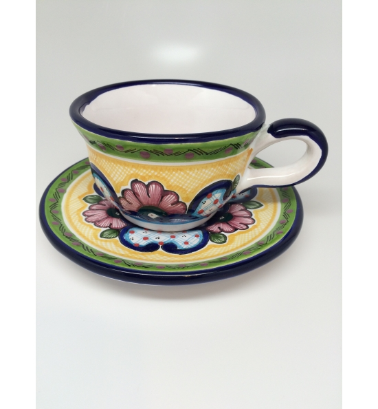 Cup and Plate Set  sc 1 st  Arte Cruz Talavera & Talavera Cup and Plate Set