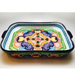 Talavera Tray - 15 x 9 inches