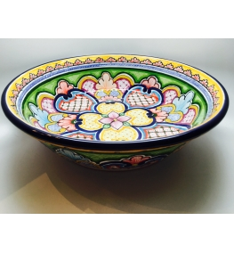 Talavera Salad Bowl Rounded