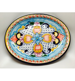 Oval smooth platter