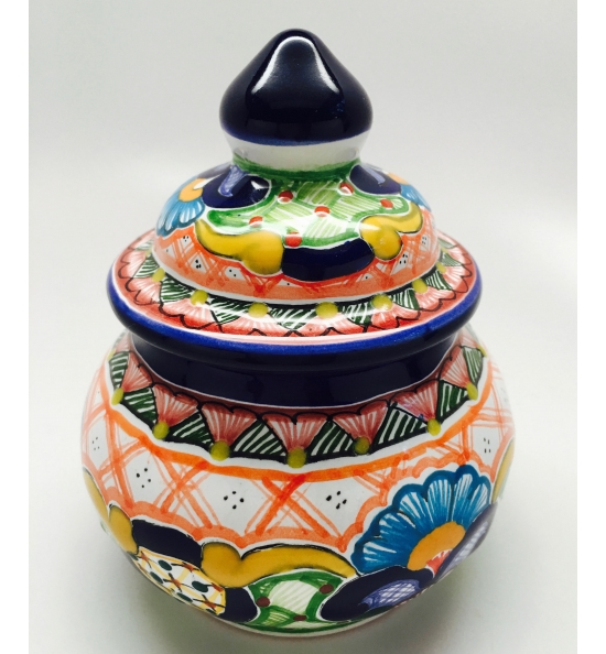 Talavera Container - 4 inches Tall
