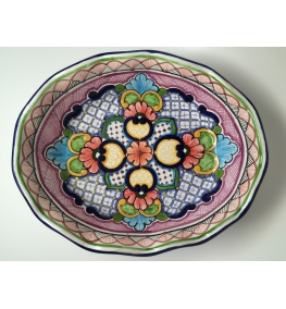 Talavera Bowl - Shell Shape
