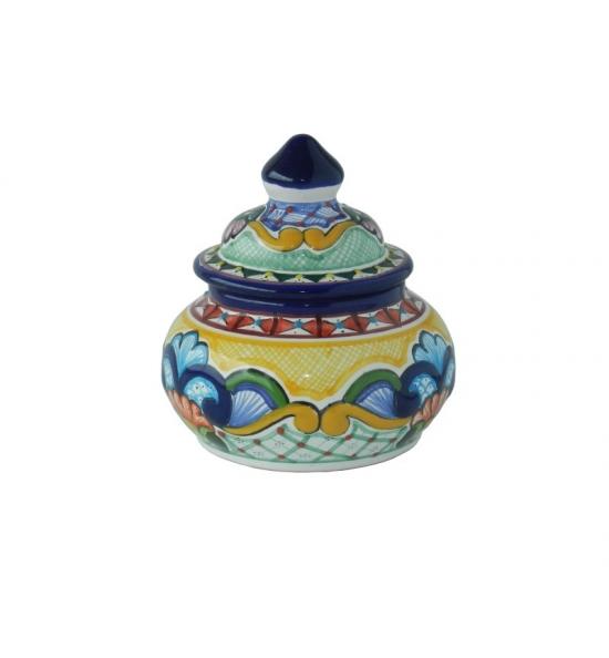 Talavera Jewelry Box - Rounded
